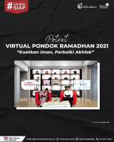 "Gelar Pondok Ramadhan Virtual, SMK Telkom Sidoarjo Usung Tema ""Kuatkan Iman, Perbaiki Akhlak"""